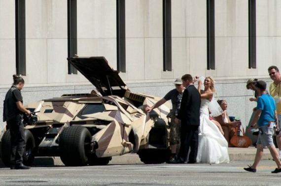 这婚车也太酷了吧